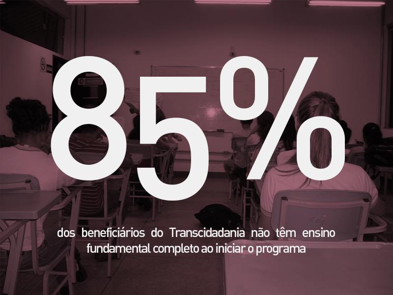 Fonte: Relatório Balanço Total Transcidadania 2016