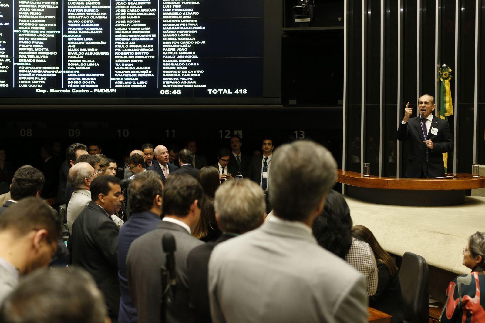 Sessão deliberativa da Câmara dos Deputados. Crédito: Flickr PMDB Nacional