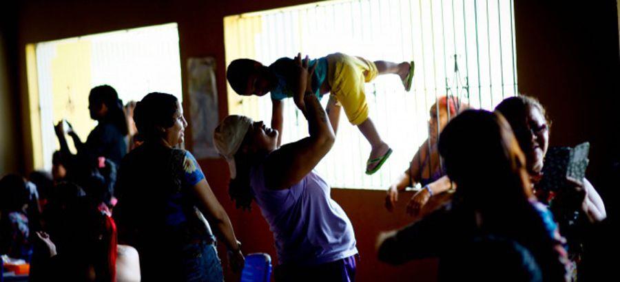 Detentas no Centro de Recuperação Feminino (CRF), em Ananindeua (PA). Crédito: Susipe/PA