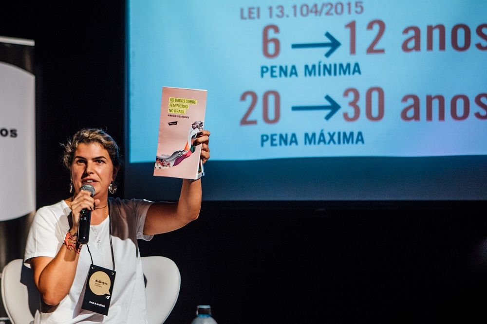Paula Martins, da Artigo 19. Foto: Juliana Chalita / GN