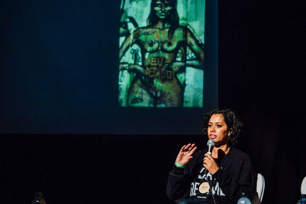 Panmela Castro e o grafite como meio de conscientização sobre violência contra mulheres