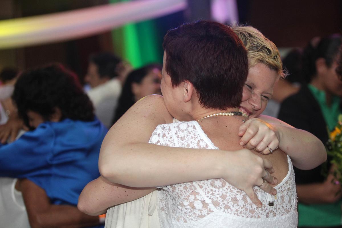Cerimônia de casamento civil homoafetivo realizada pelo Rio sem Homofobia em nov. 2014. Foto: Clarice Castro / GERJ