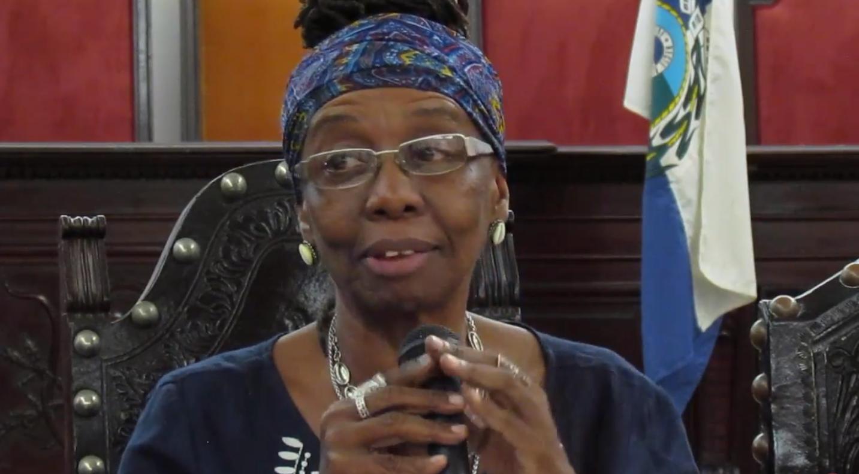 Joselina da Silva redigiu artigo sobre presença de doutoras negras na docência do país em 2009. Foto: Youtube Secult/ FE-UFRJ