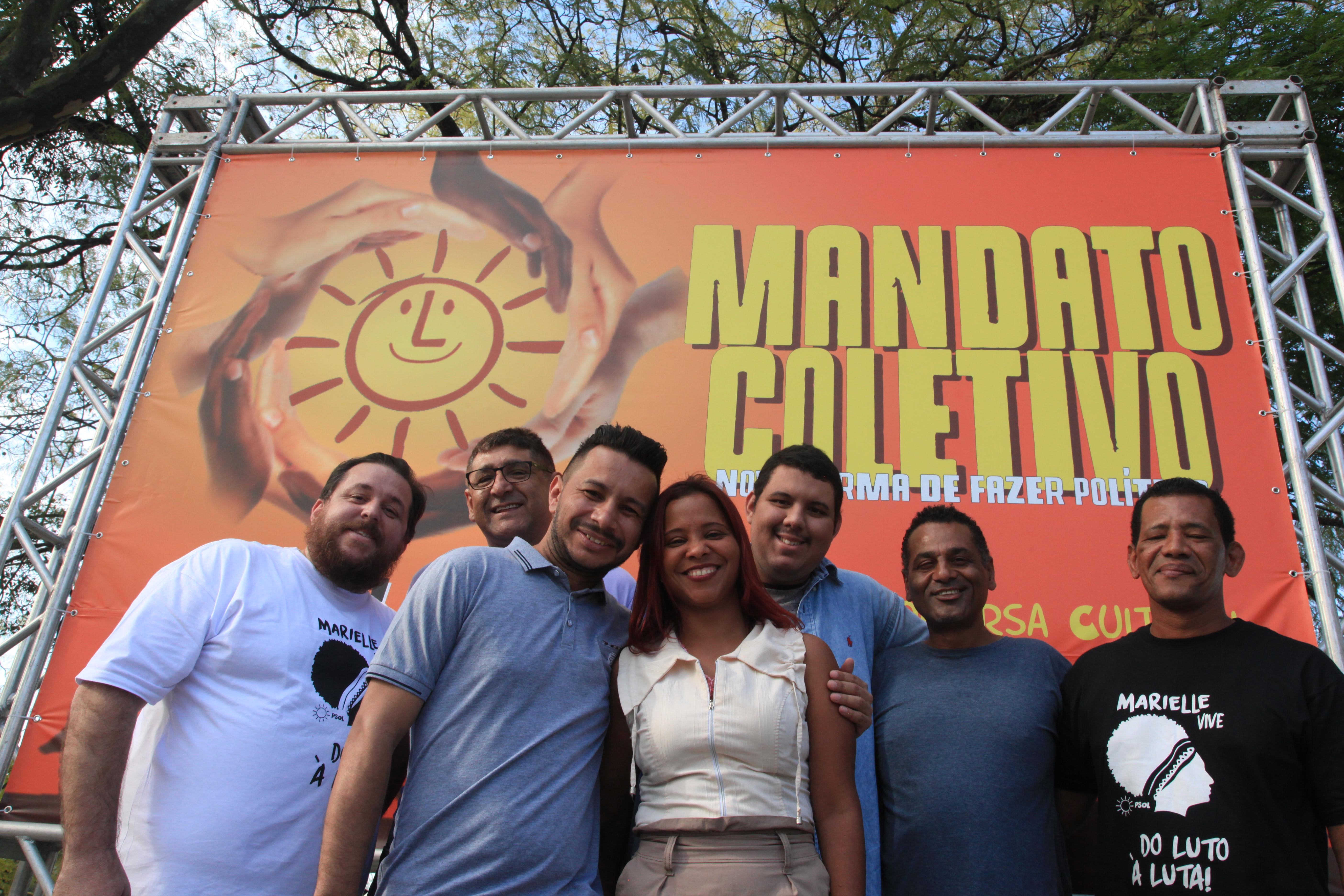 O Mandato Coletivo de São Paulo quer uma cadeira na Câmara dos Deputados | Foto: Divulgação