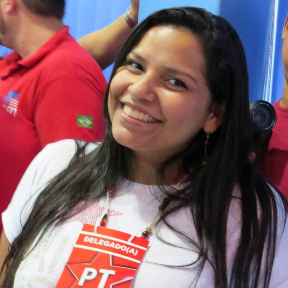 Anne Karolyne Moura, secretária nacional de mulheres do PT Foto: Divulgação/PT
