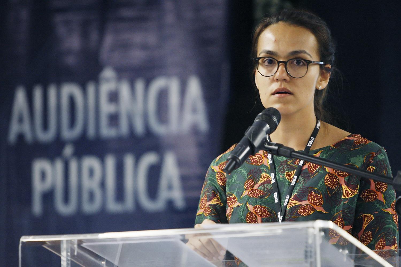 A advogada Cristina Telles, da Clínica UERJ Direitos. | Foto: Fellipe Sampaio/SCO/STF