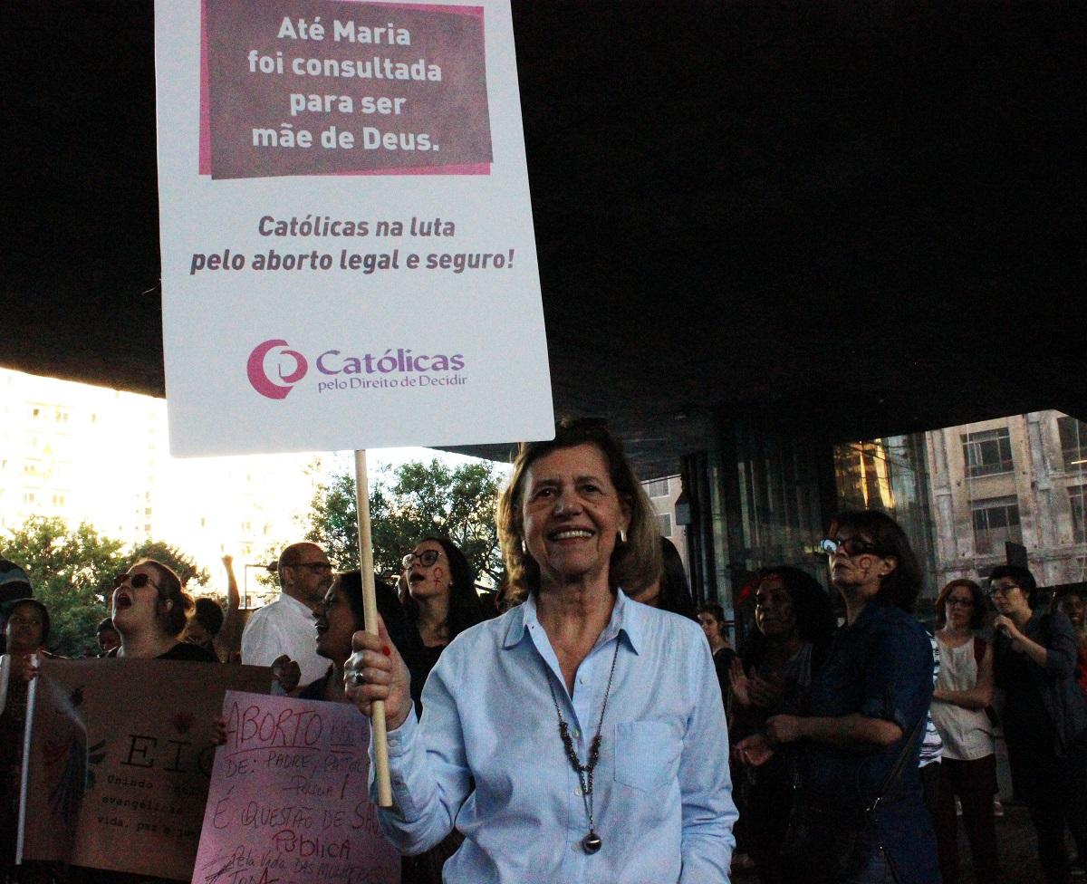Maria José Rosado, fundadora das Católicas pelo Direito de Decidir. | Foto: Divulgação