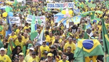 Apoiadores Bolsonaro José Cruz – Ag. Brasil
