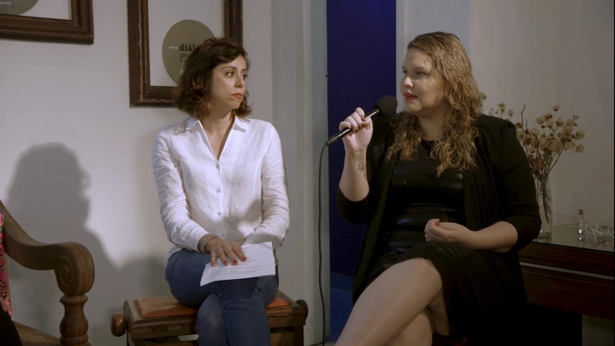 O papo é mediado pela codiretora da GN Giulliana Bianconi. A jornalista Daniela Silva divide suas experiências