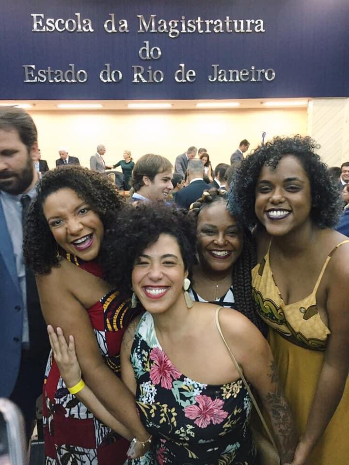 Diplomação das deputadas eleitas Renata Souza (PSOL/RJ), Talíria Petrone (PSOL/RJ), Mônica Francisco (PSOL/RJ), e Dani Monteiro (PSOL/RJ).
