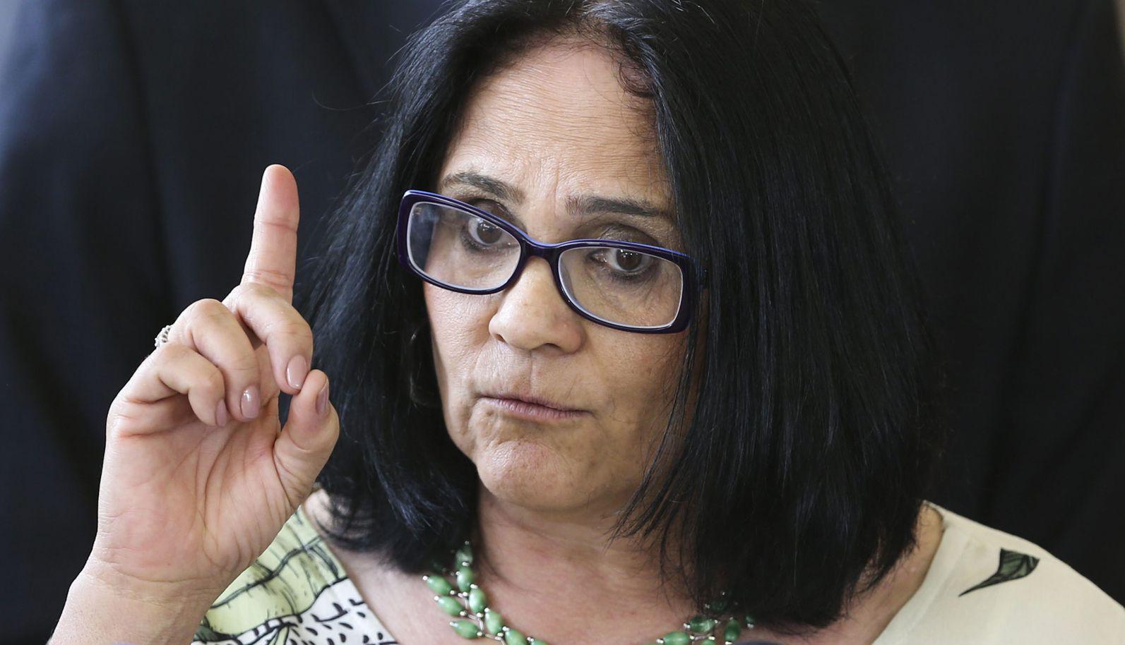 A ministra da pasta Mulher, Família e Direitos Humanos, Damares Alves|Foto: Valter Campanato/Ag. Brasil