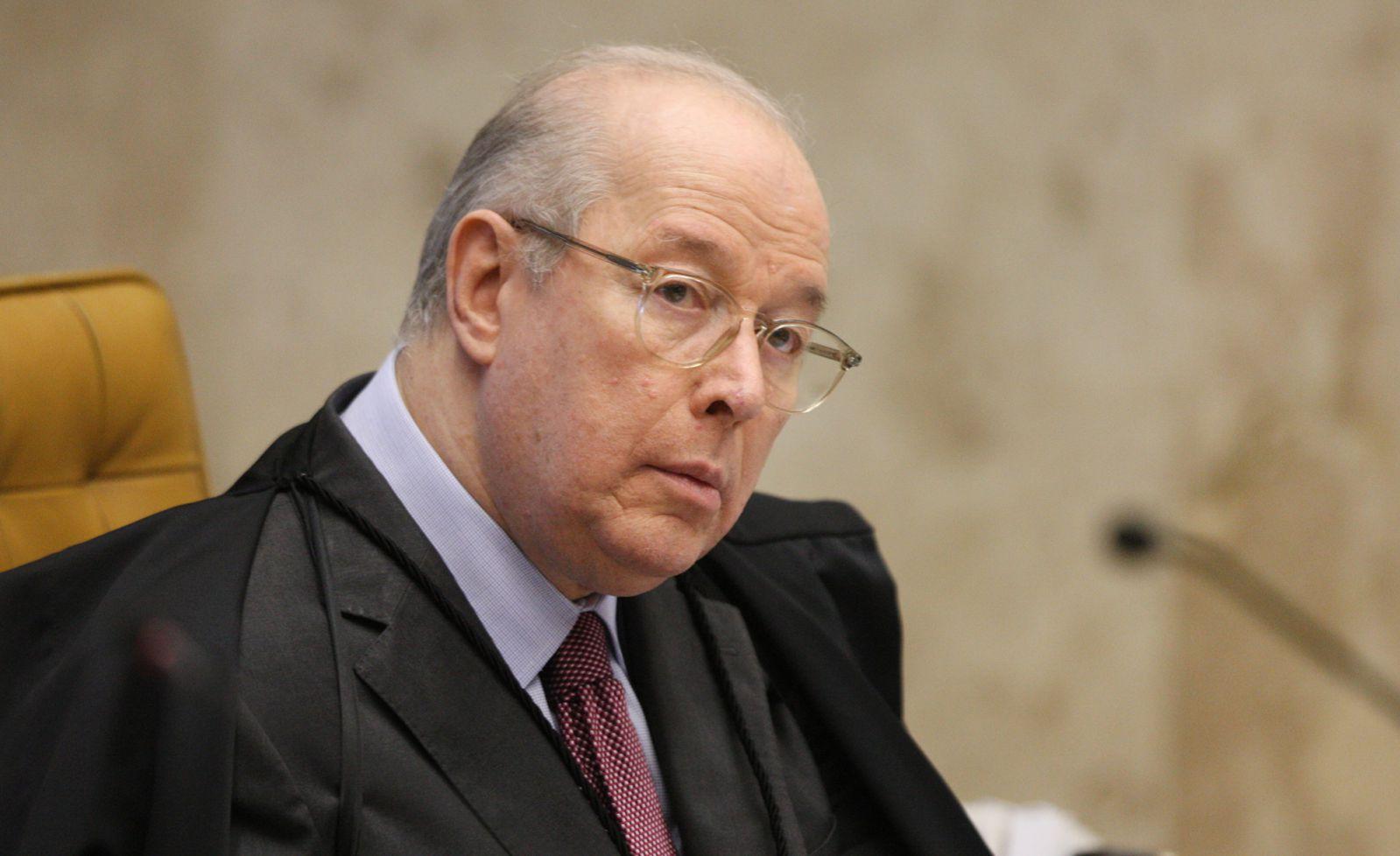 Ministro Celso de Mello durante plenário do STF| Foto: Nelson Jr/SCO/STF
