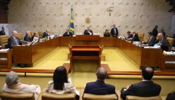 Sessão plenária. Foto Nelson Jr. SCO STF