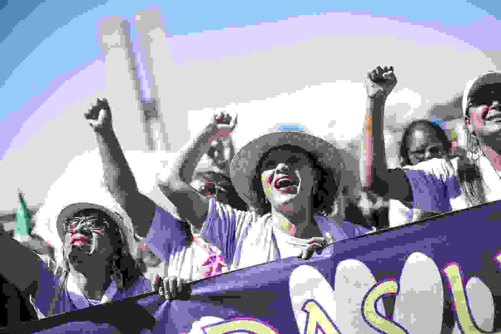Mulheres do campo, da floresta e das águas na 5º edição da Marcha das Margaridas em marcha por desenvolvimento sustentável com democracia, justiça, autonomia, igualdade e liberdade |Foto: Mídia Ninja