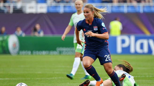A jogadora francesa ocupa o segundo lugar entre as jogadoras mais bem pagas do mundo | Foto: Divulgação Lyon