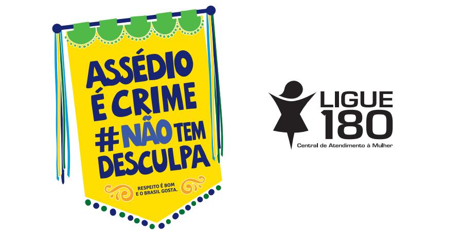 Campanha do Ministério da Mulher, Família e Direitos Humanos ressalta importância da denúncia e do respeito às mulheres no Carnaval | Imagem: Divulgação