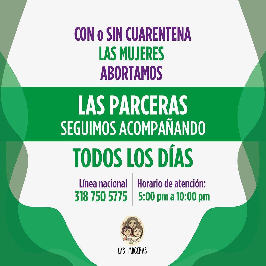 A rede colombiana Las Parceras. Na pandemia, o volume de trabalho aumentou