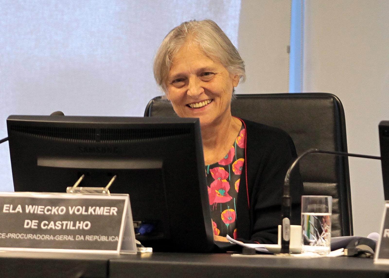 A subprocuradora-geral da República, Ela Wiecko. Foto: CNJ