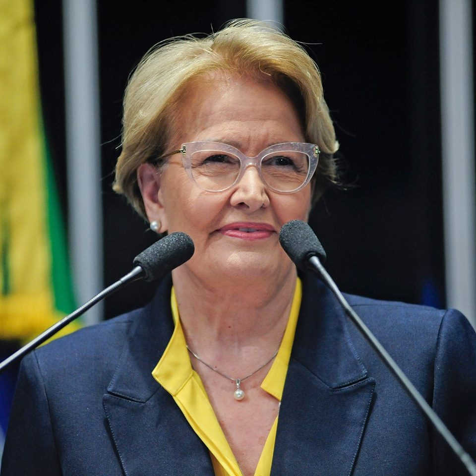 Senadora Ana Amélia desiste de tentar reeleição no Senado para compor chapa presidencial ao lado de Geraldo Alckmin. Foto: divulgação/Facebook