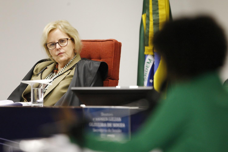 Ministra do STF Rosa Weber, relatora da ADPF 442, em segundo dia da audiência sobre ação.   Foto: Fellipe Sampaio/SCO/STF