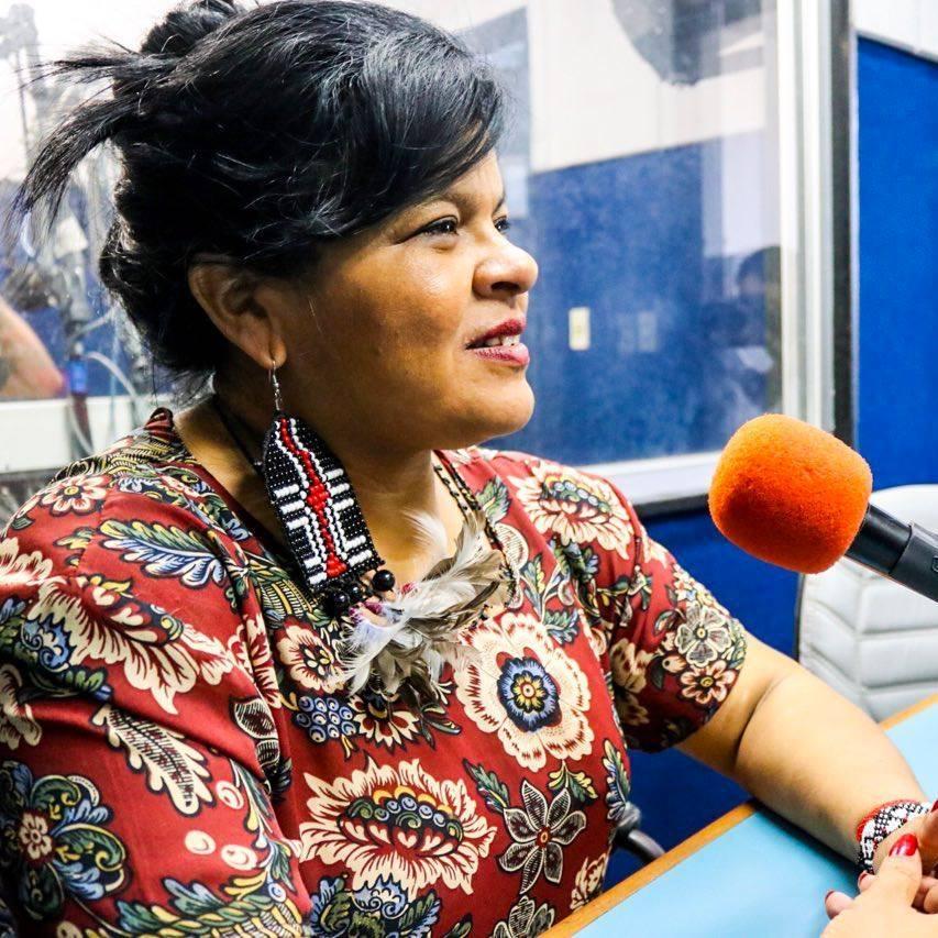 Sônia Guajajara recusa o título de vice e se coloca como candidata a copresidencia ao lado de Guilherme Boulos (PSOL). Foto: Divulgação/Facebook