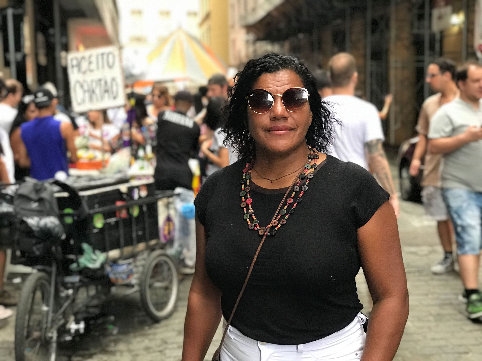 Sebastiana Rosa ainda cogita votar em branco no domingo | Foto: Maria Martha Bruno/Gênero e Número