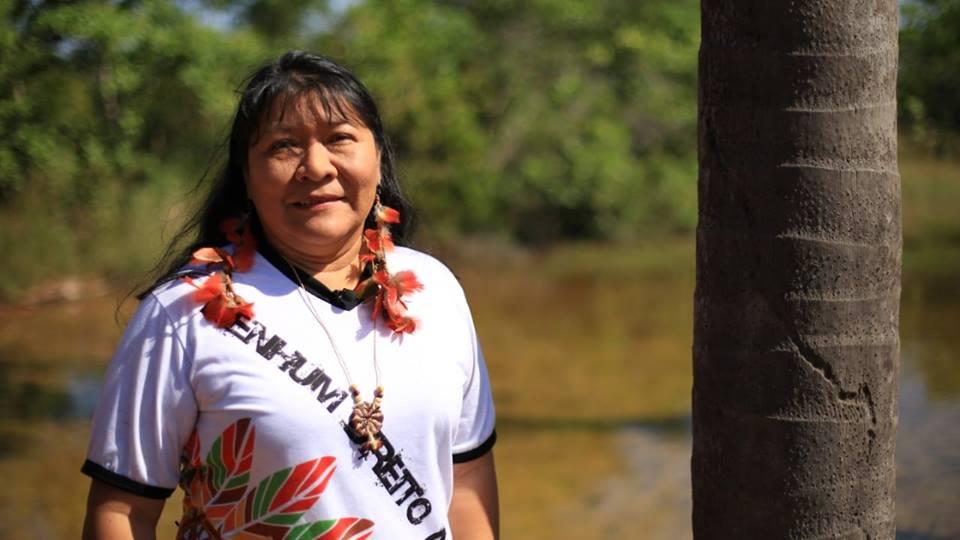 Eleita deputada federal neste domingo, Joenia Wapichana (REDE/RR) será primeira mulher indígena no Congresso Nacional | Foto: Divulgação