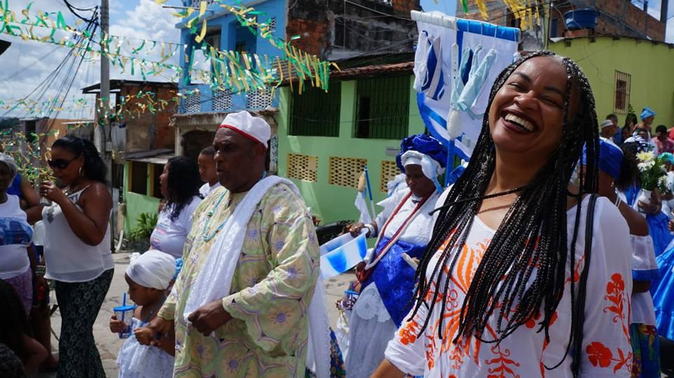 Olívia Santana, do PCdoB, foi eleita neste domingo e será primeira deputada estadual preta da Bahia   Foto: Divulgação