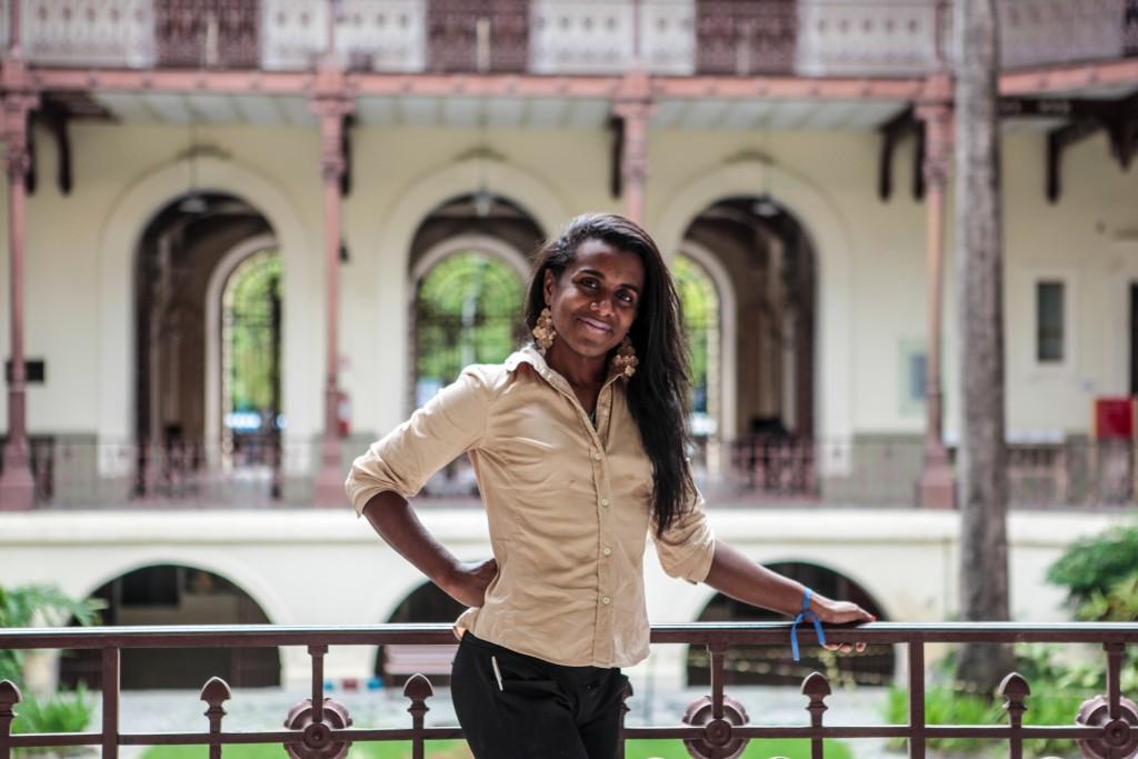 Robeyoncé Lima, primeira mulher transexual a compor um mandato na Assembleia Legislativa de PE| Foto: Giovanni Costa