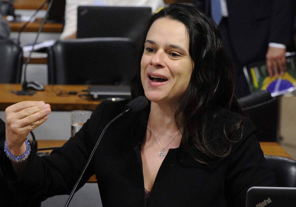 Janaina Paschoal, deputada estadual eleita em São Paulo pelo PSL   Foto: Edilson Rodrigues/Ag. Senado