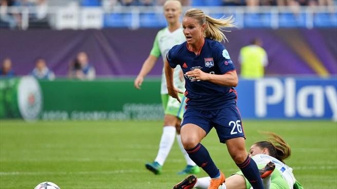 A jogadora francesa ocupa o segundo lugar entre as jogadoras mais bem pagas do mundo   Foto: Divulgação Lyon