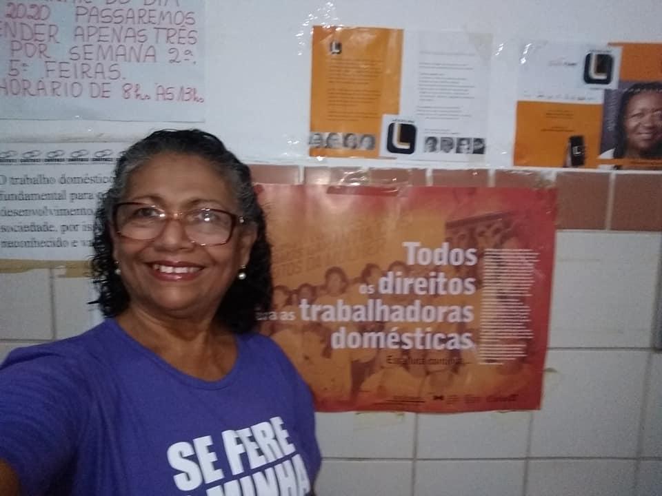 Luiza Batista preside a Fenatrab e teme impunidade no caso da morte do menino Miguel   Foto: Arquivo pessoal