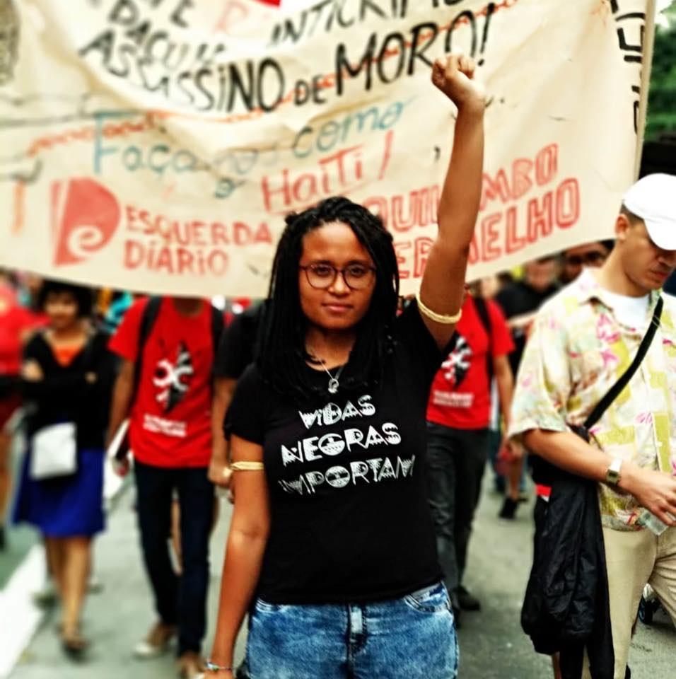 Tamires Sampaio teve live de anúncio da pré-candidatura interrompida por invasores   Foto: Arquivo pessoal