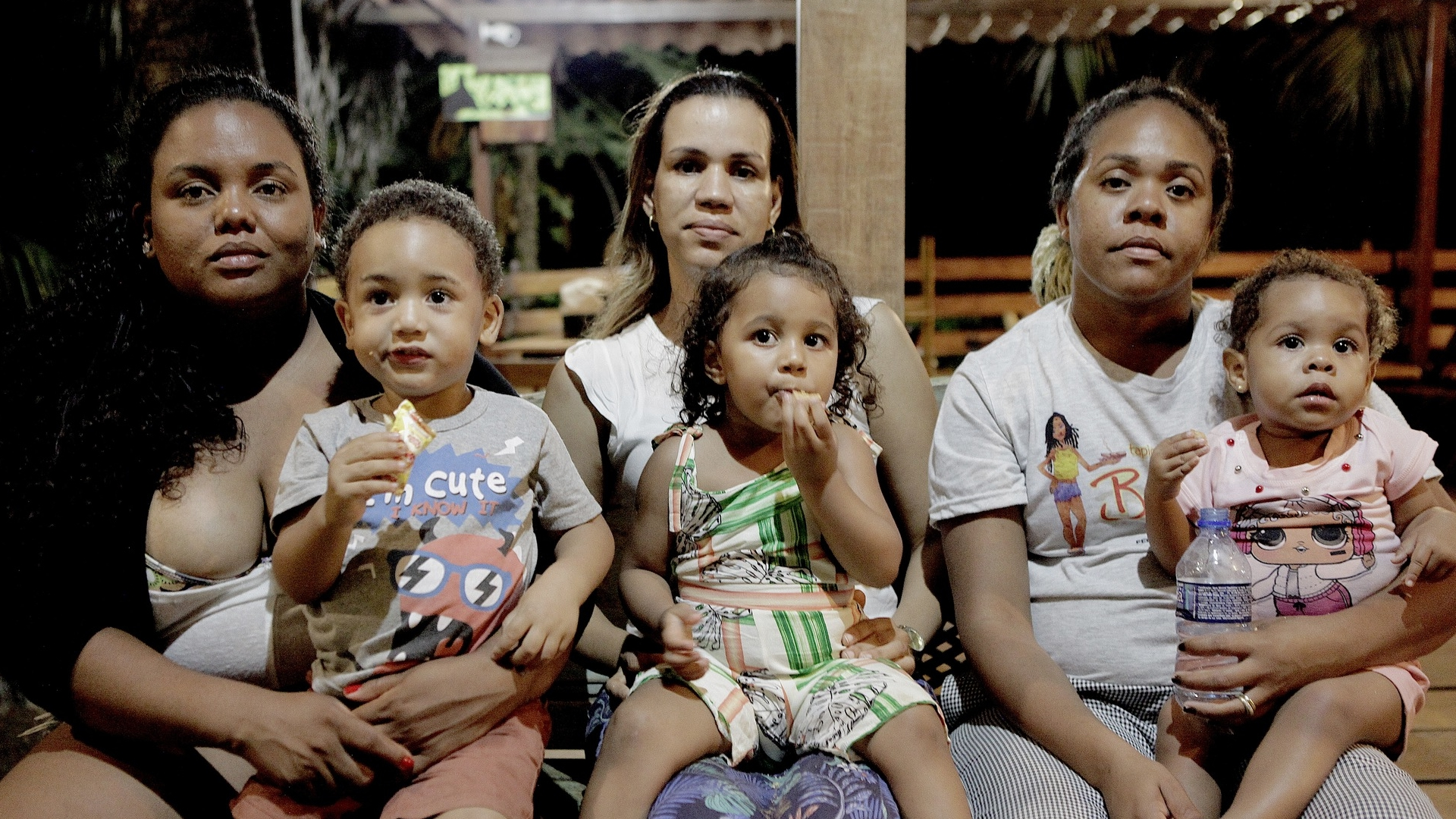 Harlene, Ione e Babalu, foram as personagens do documentário que acompanha a jornada das gestantes que tiveram que se deslocar para o continente para realizarem seus partos |Foto: Divugação
